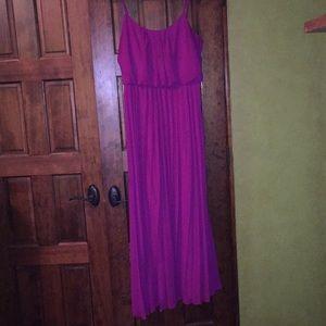 Bisou Bisou floor length gown dress